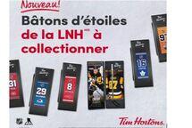 Programme de mini bâtons de la LNH -Tim Horton