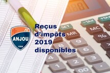 Reçus d'impôt 2019