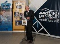 Le président des Pirates Chevrolet 440 de Laval
