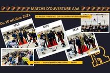 Célébrations d'ouverture de la saison 2021-2022