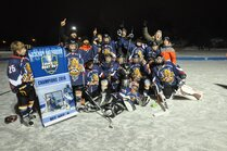 Panthères Pee-Wee C champions Coupe Best Buy 2016