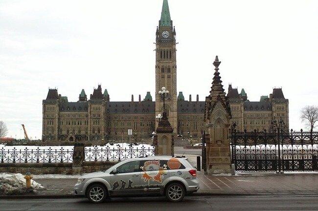 Une belle visite dans la région d'Ottawa
