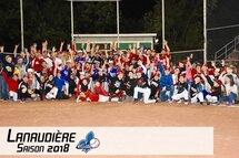 Plus de 2300 joueurs de baseball dans Lanaudière cette saison!