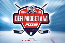 Les gagnants du Défi Midget AAA RDS présenté par CCM et le Collège Charles-Lemoyne