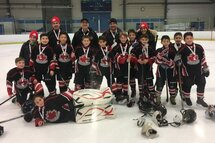 Atom A Canucks were finalists in the Gobble Gobble Cup