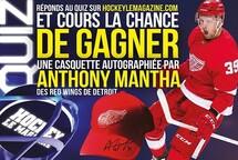 Remportez une casquette des Red Wings autographiée par Anthony Mantha !