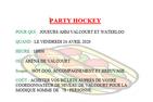 Party hockey 2019-2020