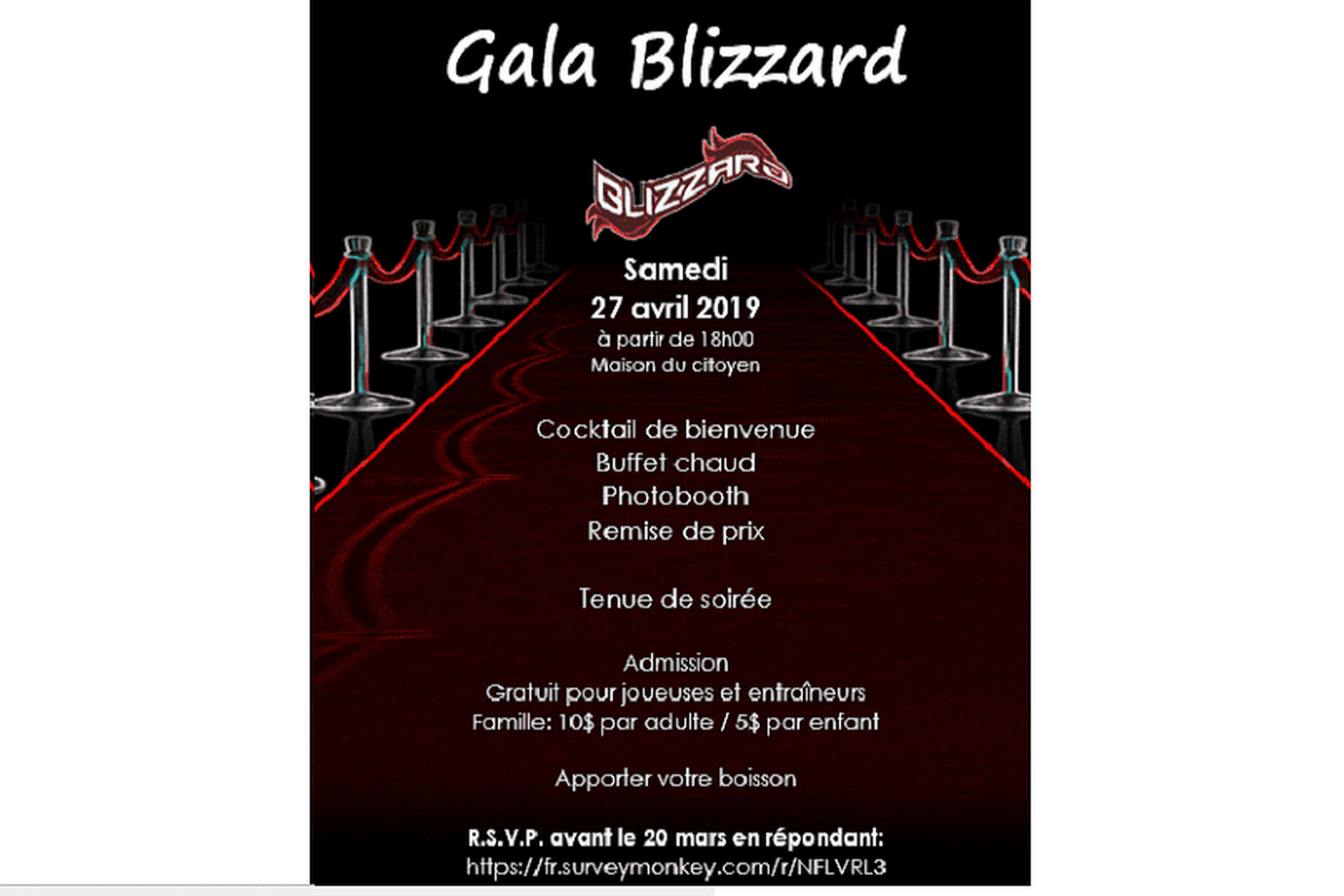 Gala Blizzard !!