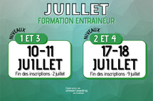 JUILLET | Calendrier de formation