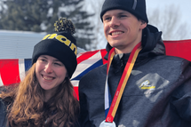 Langelaar and Scott bring home 8 medals for Manitoba at the Canada Winter Games