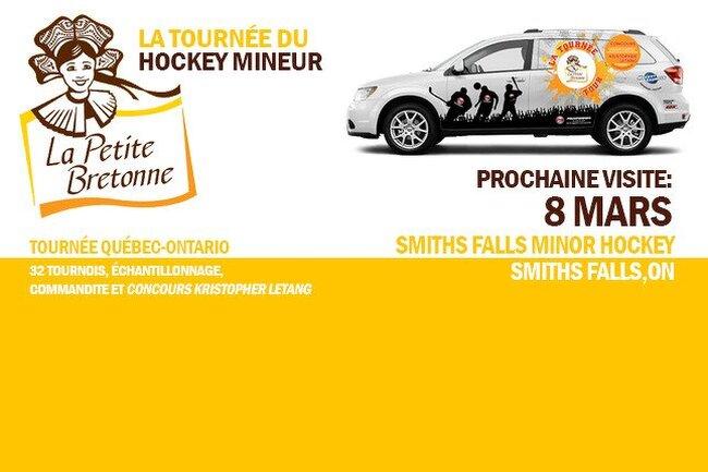 Prochaine visite Smiths Falls Ontario