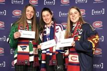 Quatre joueuses de la LHEQ reçoivent une bourse d'études