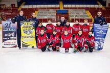 Les Rafales de Laval-Est Novice B, Champions interrégionaux ont connus toute une saison