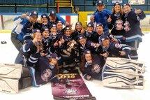 Une compétition de hockey féminin mémorable à la Coupe Dodge 2016
