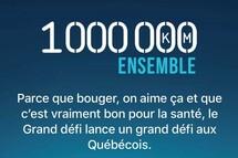 Joignez-vous au groupe HMB pour le défi 1 000 000 de km ensemble!