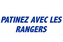 Venez patiner avec les Rangers