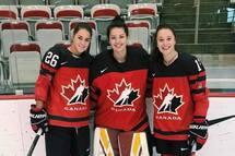 Eve Gascon sélectionnée chez Équipe Canada u18 féminin