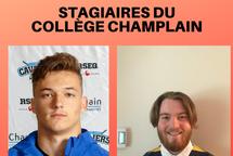 Fin du stage de deux étudiants du Collège Champlain