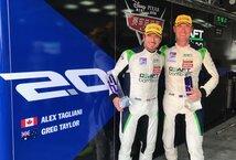 Les pilotes Alex Tagliani et Greg Taylor de l'équipe Craft-Bamboo Racing sont montés sur la troisième marche du podium à l'issue de la septième étape de la série asiatique FRD LMP3 (Le Mans Prototype 3) disputée samedi sur le circuit routier de Zhuhai en Chine.