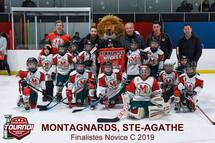La saison de rêve des Montagnards Novice C se poursuit