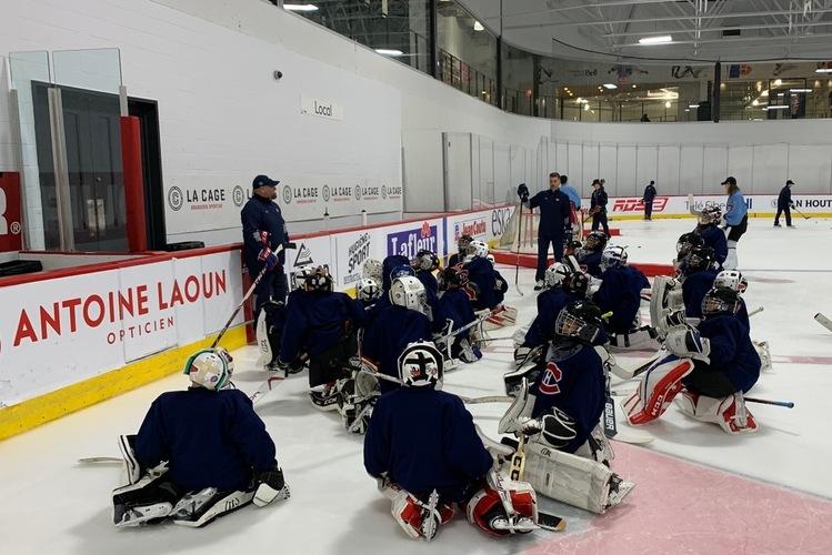 Camp de gardien des Canadiens: 13 au 15 août 2021