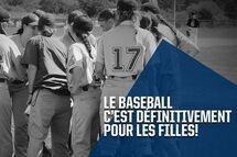 Camp baseball féminin 2019 : mise à jour
