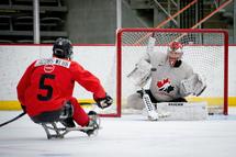 Équipe nationale de parahockey: un camp enrichissant pour nos trois Québécois