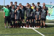 L'équipe gagnante de la Coupe du Nord 2018 dans la catégorie u15 - CDR - Groupe B Read