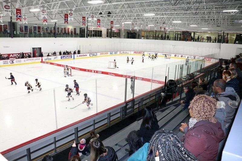 Les Canadiens récompensent nos projets-pilotes du programme Novice demi-glace