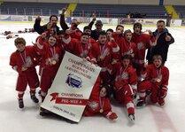 Championnats Régionaux 2015 - Lions Pee-Wee A2