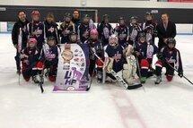 Félicitation aux Blades de DDO Pee-Wee A pour leur médaille de bronze lors des séries LIHF !