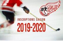 Inscriptions pour la saison 2019-20