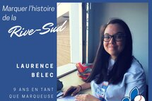 Marquer l'histoire de la Rive-Sud : Laurence Bélec