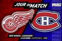 Jour de match | Un dernier match au Centre Bell en octobre pour le Canadien