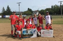 Les Escaladeurs de La Pocatière, gagnants du championnat régional Pee-Wee A