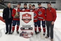 Champions à Sherbrooke - Bantam AAA !!!