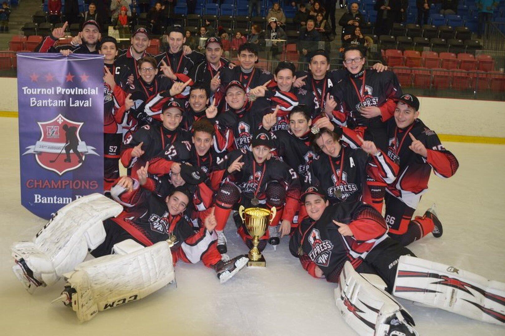Champions Bantam BB_2018 Les Dynamos Express Laval