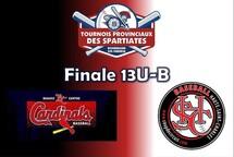 Finale 13U-B entre Beauce-Centre et Haute-Saint-Charles