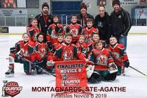 Les Montagnards Novice B atteignent la finale du tournoi de Lorraine-Rosemère
