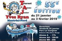 Classique hivernale du tournoi Atome Junior de Montréal-Nord