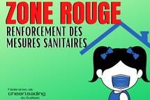 Renforcement des mesures sanitaires | Zone rouge