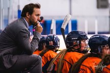 L'entraîneur-chef Philippe Trahan - Crédit photo - James Hajjar