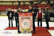 Banderole aux gagnants : Les Voyageurs de Cowansvi