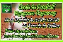 École de baseball des Voyageurs Saguenay