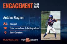 Antoine Gagnon - Crédit photo - Courtoisie de l'athlète