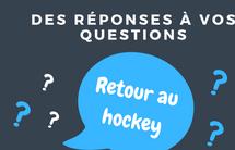 FAQ: retour du hockey et COVID-19