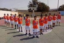 De jeunes joueurs de handball Algériens au couleur du CS Titans