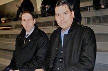 Maxime Ouellet, à gauche, en compagnie de Paul Vollant