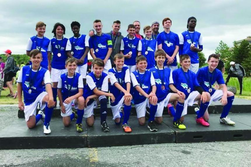 FC Trois-Vallées gagne la médaille de broze