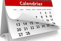 (Section Mixte) Modification au calendrier